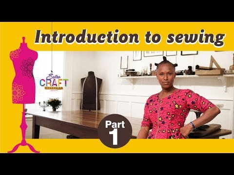Introduction to Sewing {Beginner's Class}