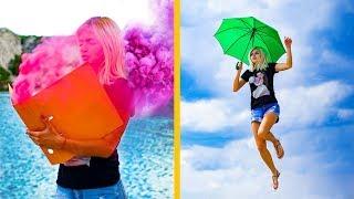 15 Ideias Divertidas e Criativas Para Fotos! Truques Para Fotos Do Instagram