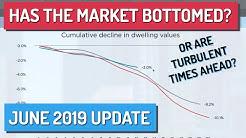 Has The Market Bottomed Yet? - Australian Property Market Update: June 2019
