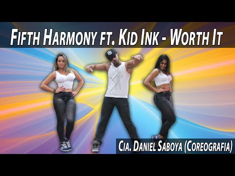 Fifth Harmony ft. Kid Ink - Worth It Cia. Daniel Saboya (Coreografia)