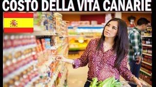 IL VERO COSTO DELLA VITA a TENERIFE CANARIE !!!