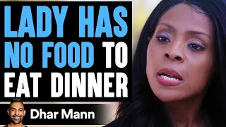 Lady Has No One To Eat Dinner With On Thanksgiving, Stranger Changes Her Life   Dhar Mann
