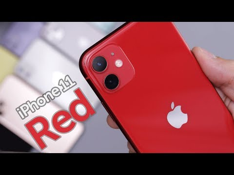 Red iPhone 11 Unboxing & First Impressions!