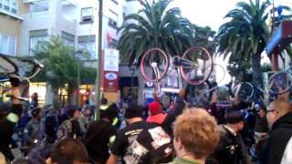 WeReport: Third annual Bikes 4 life ride At fruitvale BART station