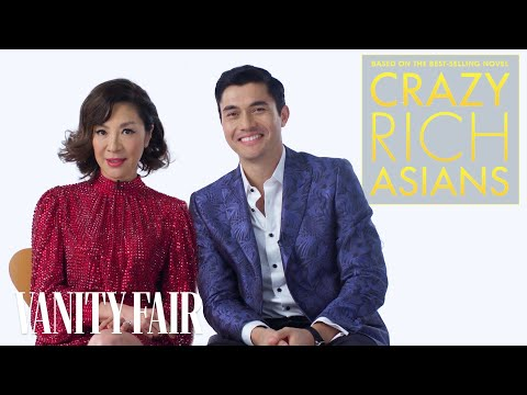 "The Cast of ""Crazy Rich Asians"" Teach You How To Be Crazy Rich 