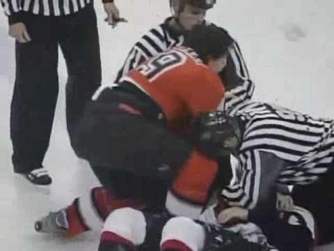 "[Vintage] March 5th, 2004 Ottawa Senators vs Philadelphia Flyers ""The Brawl"""