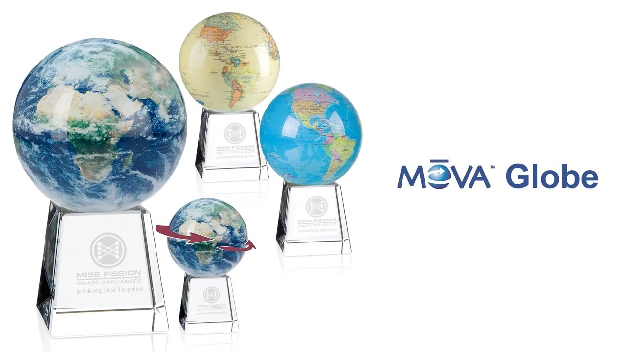 5dbc4032f41aa Mova Globe Award with Crystal Base - Awards & Recognition by Promotions Now