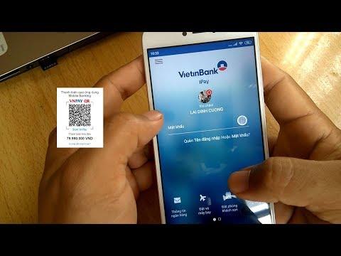 Hướng dẫn thanh toán QR Code với Vietinbank iPay