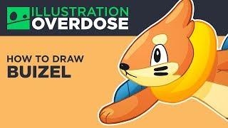 How to Draw Buizel (Pokemon No. 418)
