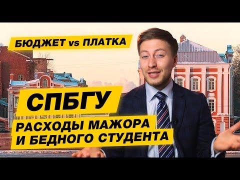 БЮДЖЕТ-ПЛАТКА - СПбГУ.