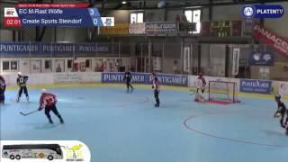 المباراة 6: EC M-الشبكة-الذئاب - إنشاء الرياضية قرية الحجر - 4:0 (2.الربع / 02:12) على 18.06.2016 13:43