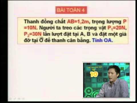 Video Bài Giảng Bổ trợ kiến thức môn Vật Lý lớp 10   Đài Truyền Hình HTV4 4