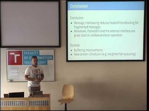 SCTP User Message Interleaving - Integration and Validation