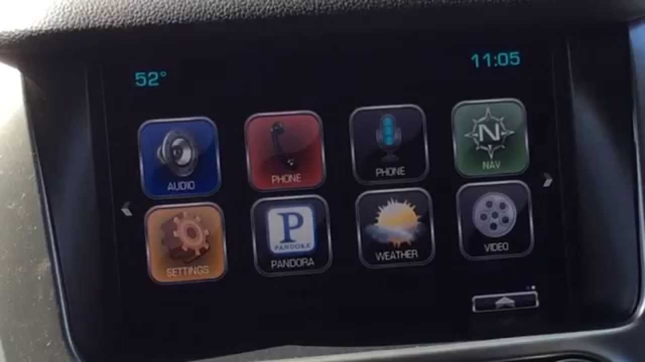 2015 Tahoe and Suburban MyLink Radio-Awesome Features ...