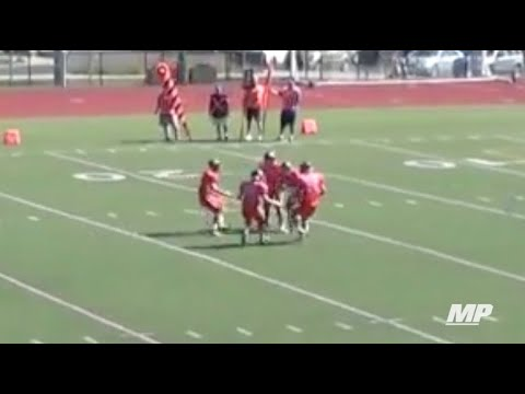 Houdini magic trick on the gridiron