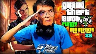 SELFIE MUNA BAGO MAKULONG!!   Grand Theft Auto 5 Funny Moments - #3