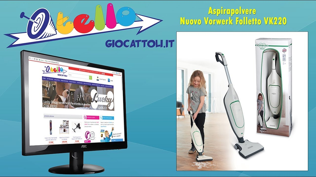 Grandi Giochi GG00300 Nuovo Vorwerk Folletto