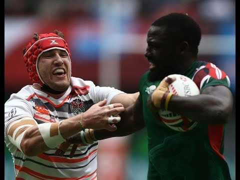 Kenya 7s vs England 12-0  Full Game Cup Quarter Final Vancouver Canada Sevens 2018