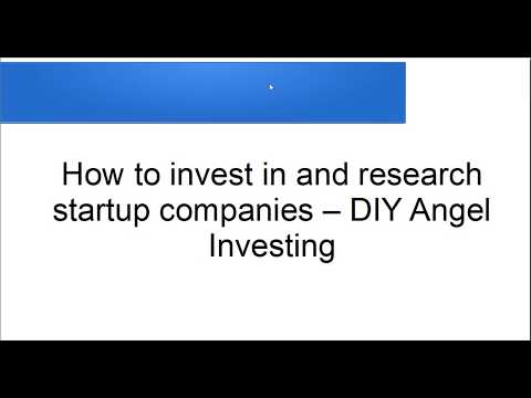 Equity Crowdfunding - How to invest in and research Startups as a non-accredited Investor
