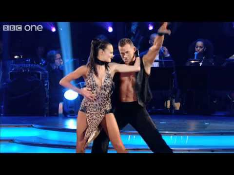 Kara Tointon And Artem Chigvintsev - Strictly Come Dancing 2010 - BBC One