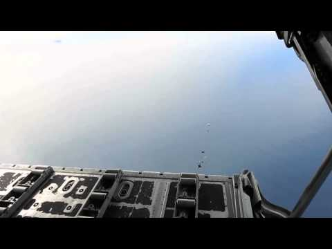 Naval Special Warfare Group Parachute Exercise