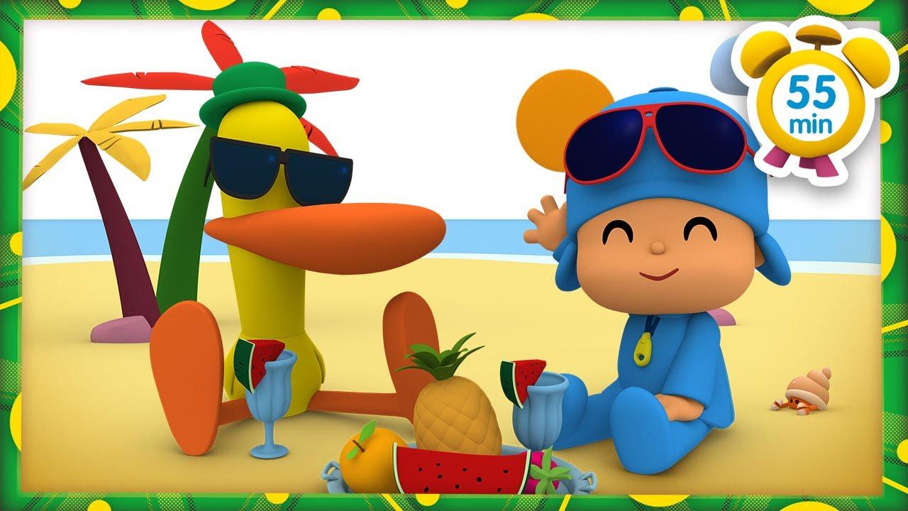 ⛱️  POCOYO FRANÇAIS - Festival d'été [55 min] | DESSIN ANIMÉ pour enfants
