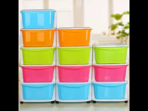 Plastic Storage Drawers For Clothes Woven Storage