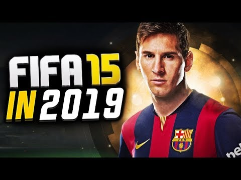 FIFA 15 but it's in 2019...
