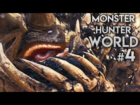 THE MOST DISGUSTING MONSTER | Monster Hunter: World | Ep.4 |