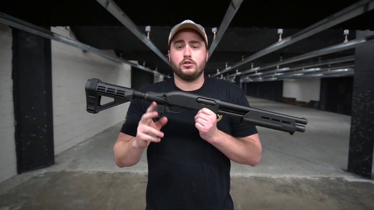 Remington Tac-14 with Arm Brace! Not a Short Barrel Shotgun?