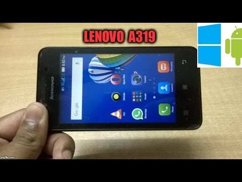 Lenovo A319 Support and Manuals