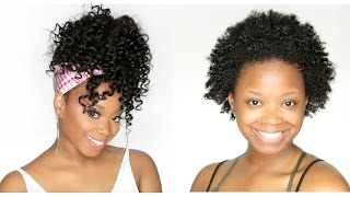 How To Put Short Hair Into A High Ponytail - KRSHairGroup Glueless Wig