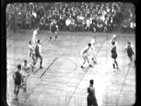 Bob Feerick Night - BAA Basketball 1949 - Washington Capitols verses Baltimore Bullets