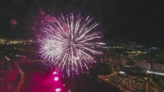 В столичном Братеевском парке все готово к невероятному празднику фейерверков.