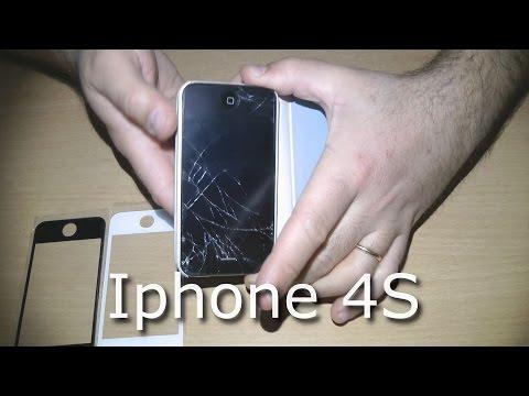 Sostituzione vetro iphone 4s