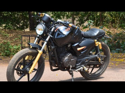 cafe racer india |best modified apache cafe racer bhilai