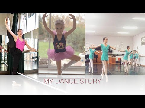 MY DANCE STORY / becoming an adult ballerina | natalie danza