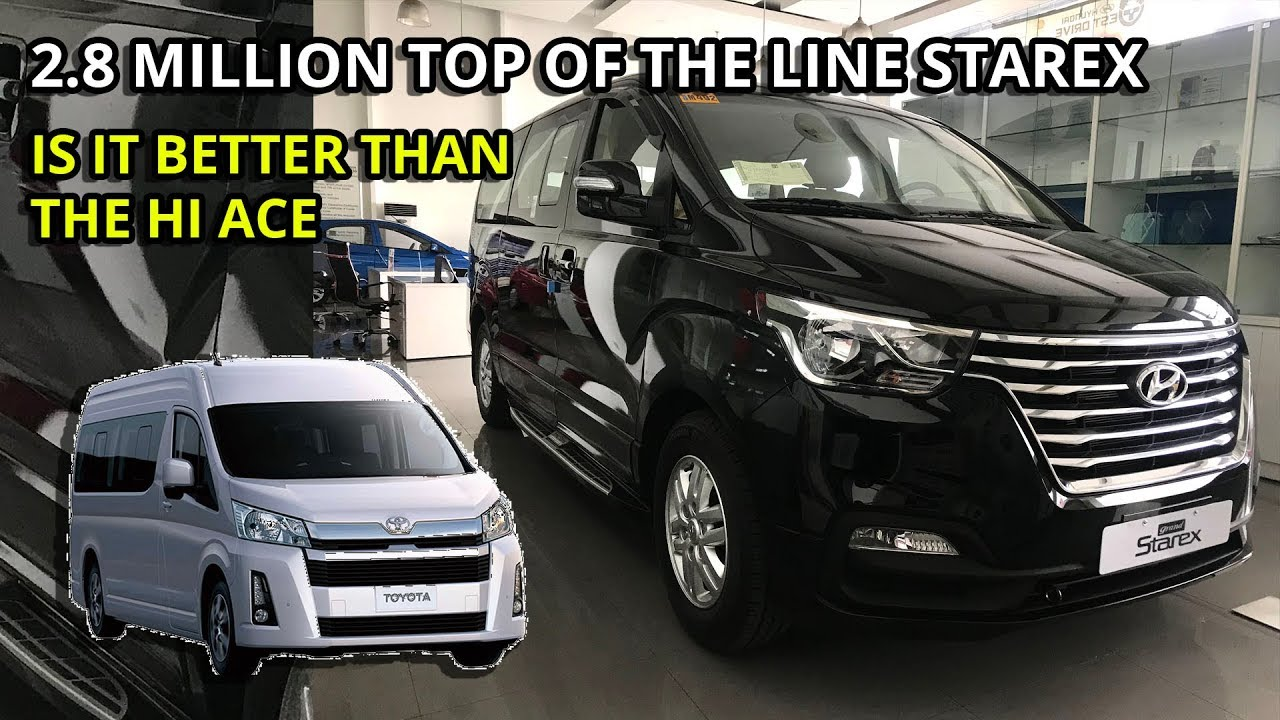 2019 Hyundai Grand Starex Platinum Is It Better Than The Hiace Grandia And Alphard Philippines