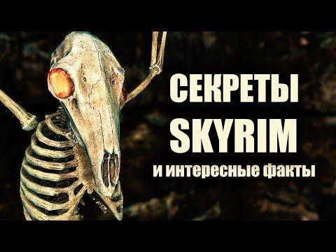 Skyrim - СЕКРЕТЫ СКАЙРИМА и интересные факты! thumbnail