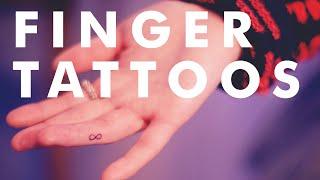 20 Tiny Finger Tattoos