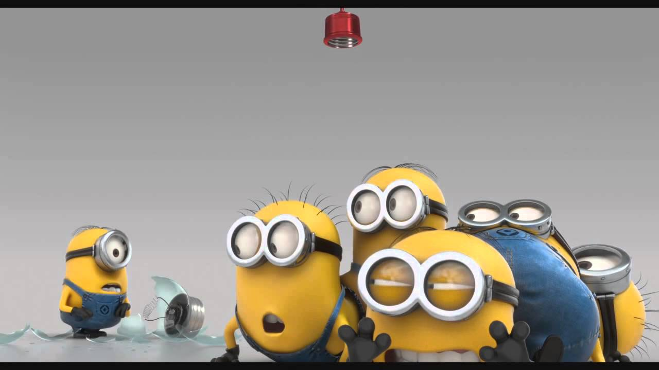online retailer bd8e5 7bc45 Minions - Cow Cup , The Stars are Brighter , Evil Minion Animation Test ,  Banana song