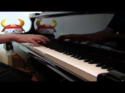 楽譜は、kmpの「ピアノ・ピース[思い出のマーニー]より」 のものを使いました。きれいな旋律です。楽譜が長かった ので譜めくりでロスし...