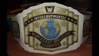 How to make WWE Intercontinental Championship belt