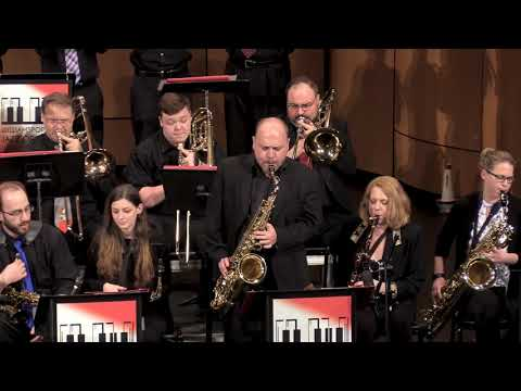 """""""Filthy McNasty"""", WCJO With Lycoming College Jazz Orchestra"""