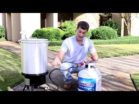 A Quick Tip: How To Use The Propane Turkey Fryer With Timer