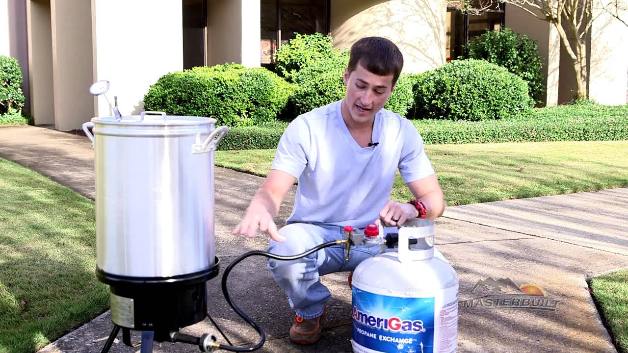 a quick tip how to use the propane turkey fryer with timer youtube