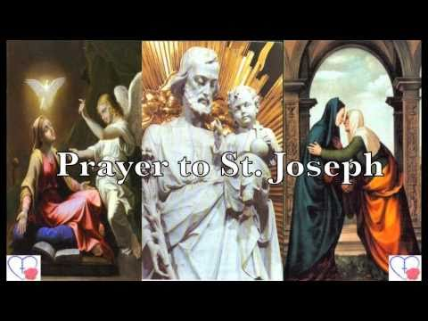 PRAYER TO SAINT JOSEPH FOR EMPLOYMENT AND JOB-GETTING