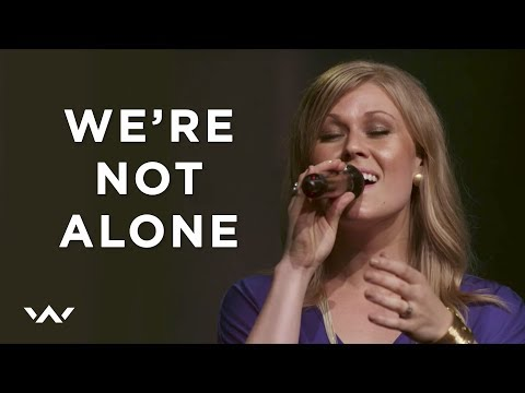 We're Not Alone | Live | Elevation Worship