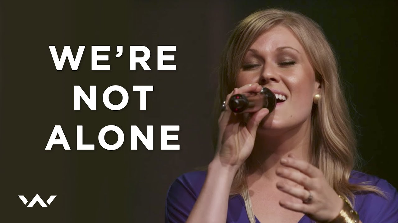 We're Not Alone   Live   Elevation Worship