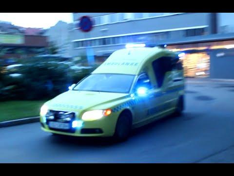 [Collection] Ambulanse Oslo-Akershus å ringe / Ambulances Oslo-Akershus to several calls